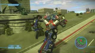 Transformers The Game  Xbox 360  Ps3 Gameplay Playthrough Autobot Campaign End PART 5