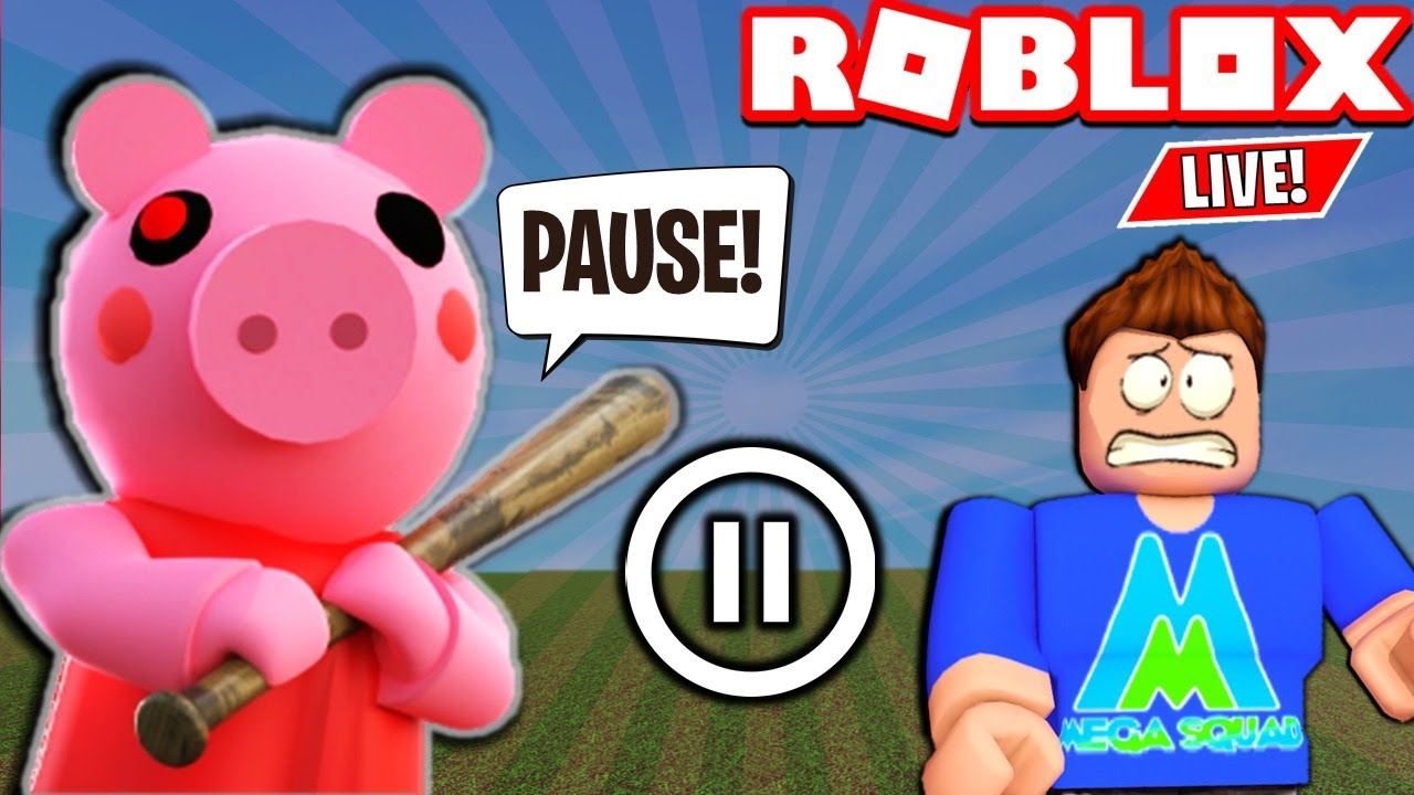 Fusionzgamer Roblox Piggy Roblox Piggy Pause Challenge Double Points Roblox Live Youtube