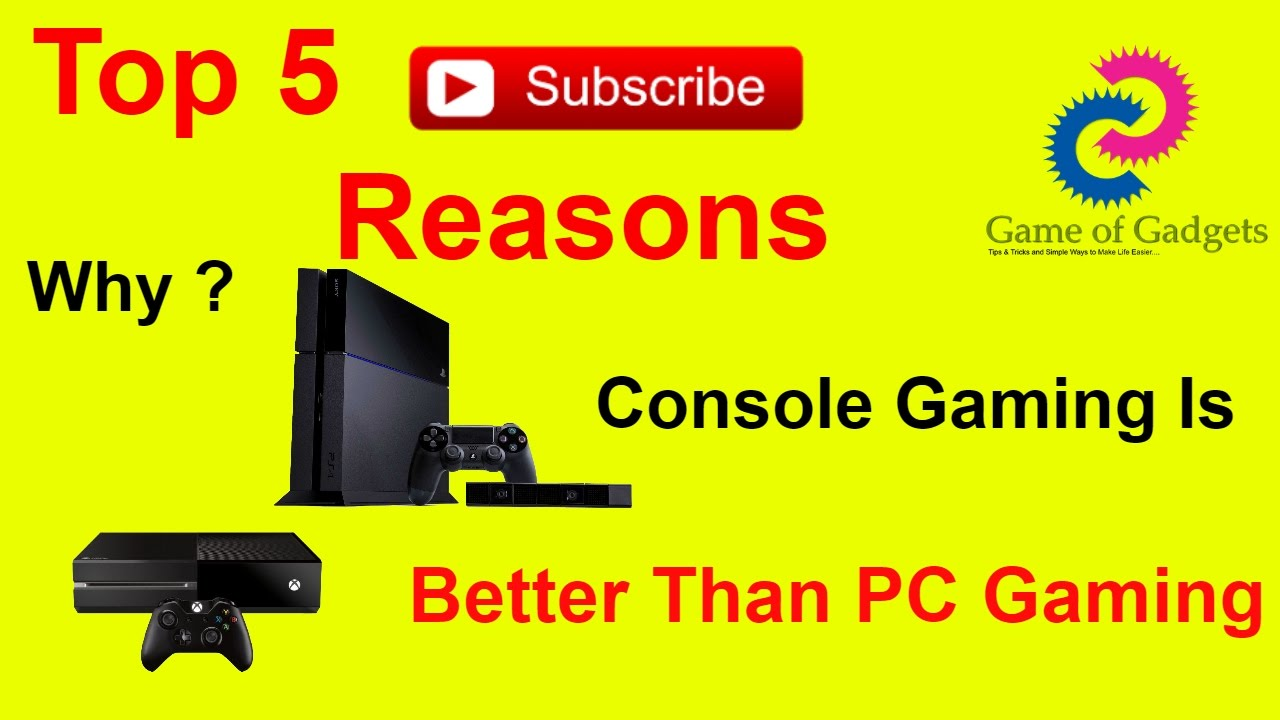 console systems are better than pcs In this article i will explain the reasons why a computer is much better than a console than the consoles   pc vs console consoles have a system that.