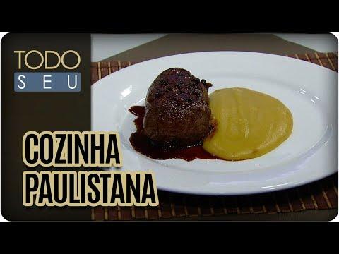 Filé Ao Molho Poivre Com Chef Janaina Rueda - Todo Seu (06/11/17)