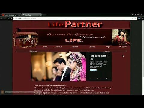 Online Matrimony System in Asp.Net C#