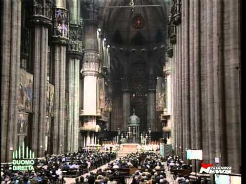 Sabato santo - Scola: «Voi catecumeni siete i germogli della primavera della chiesa ambrosiana»