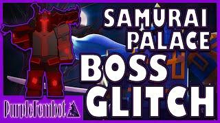 Cómo GLITCH BOSS en SAMURAI PALACE y SOLO NM HC (Roblox Dungeon Quest)