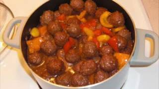 Easy Sweet Sour Meatballs