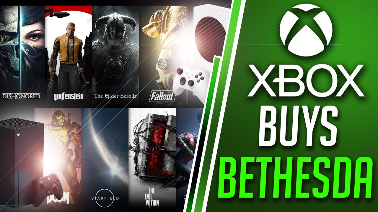 Xbox BUYS Bethesda | MASSIVE Xbox Series X Future Exclusives? | Xbox MEGATON News!!