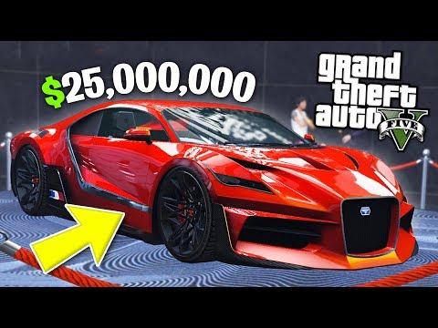 GTA 5 Casino DLC $25,000,000 Spending Spree! (GTA 5 Casino DLC New Cars)