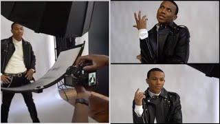 Behind The Scenes: Manny Pemberton Photoshoot