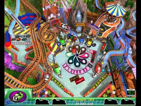 3D Ultra Thrill Ride Pinball PC Gameplay [HD]