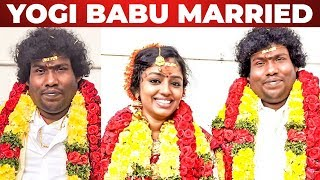 Actor Yogi Babu married in secret? | Yogi Babu – Manju Parkavi Wedding