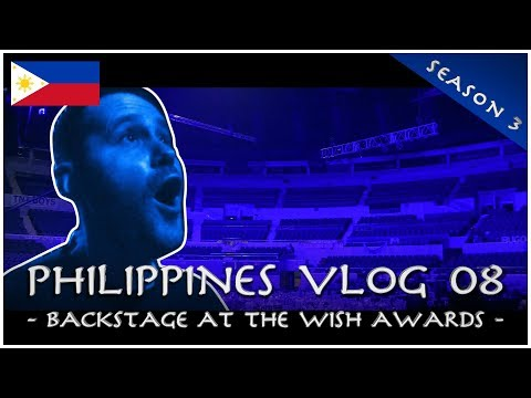 Backstage at the Wish Awards - PHILIPPINES VLOG 08