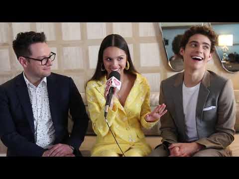 High School Musical's Joshua Bassett & Olivia Rodrigo Spill BTS Secrets, Dream Merch, & More!