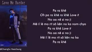 [Phiên âm tiếng Việt] Love Me Harder - Woodz (Cho Seungyoun)