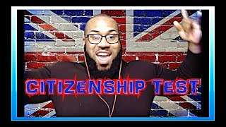 AMERICAN TRYS REAL BRITISH CITIZENSHIP TEST