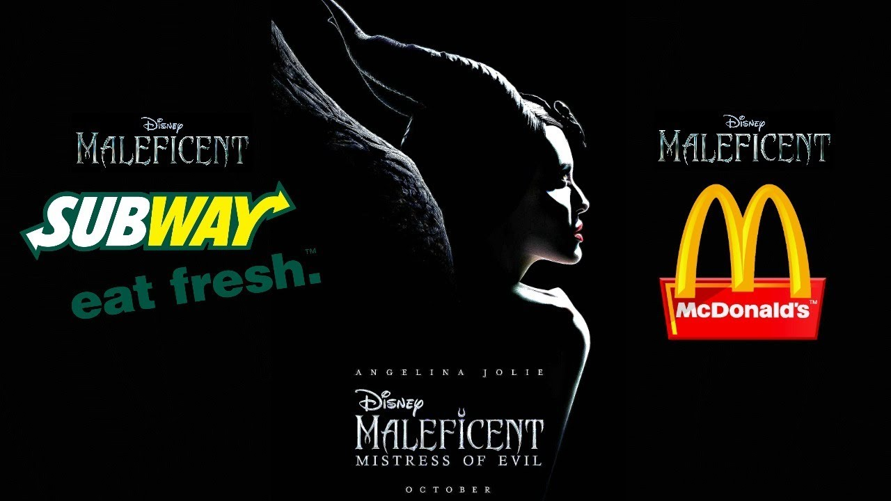 Mcdonalds Or Subway For 2019 Disney Maleficent Mistress Of Evil Happy Meal Toys Or Kids Pak