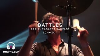 BATTLES - Live in Paris