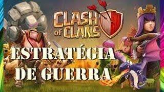 CLASH OF CLANS | Estratégia de guerra para cv8 !