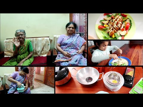 surprise-gift-for-my-amma---harvesting-lettuce-from-garden---grilled-chicken-salad-two-ways