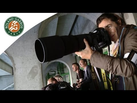 Jobs at the French Open: photographer