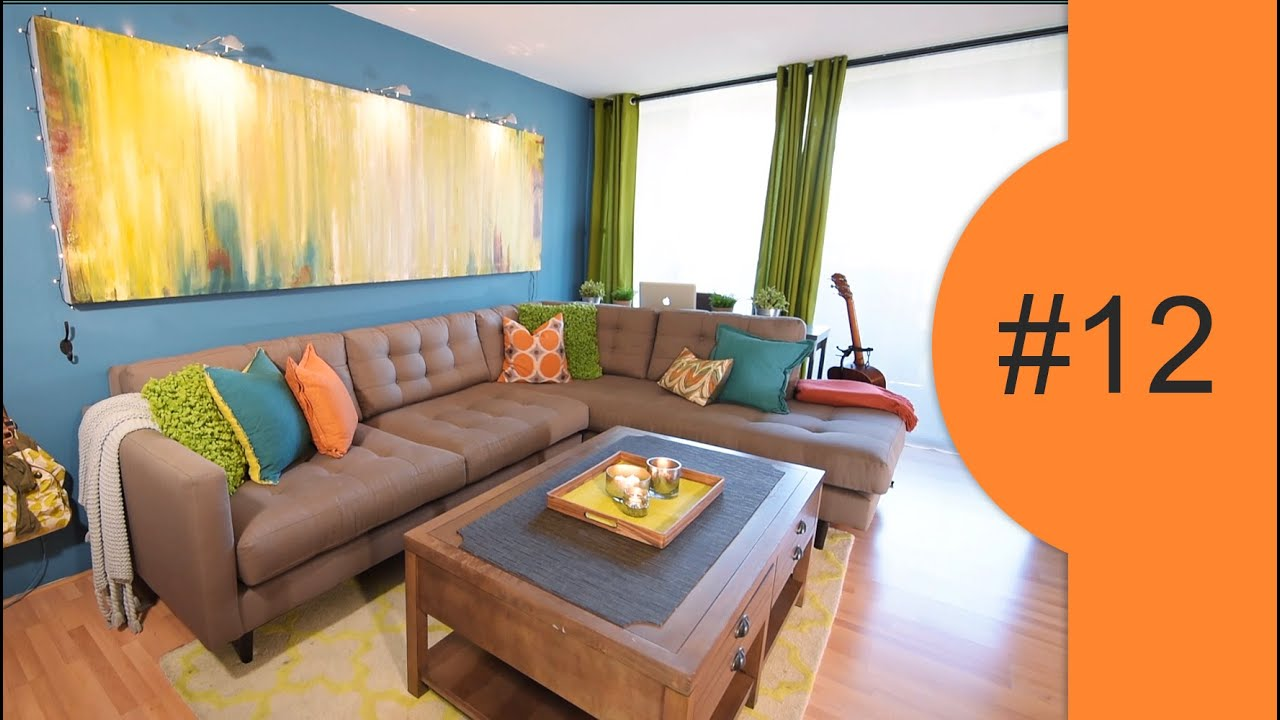 Colorful, Small Apartment Decorating Ideas