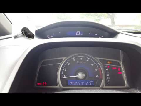 2011 Honda Civic TPMS Light Overview and Fix