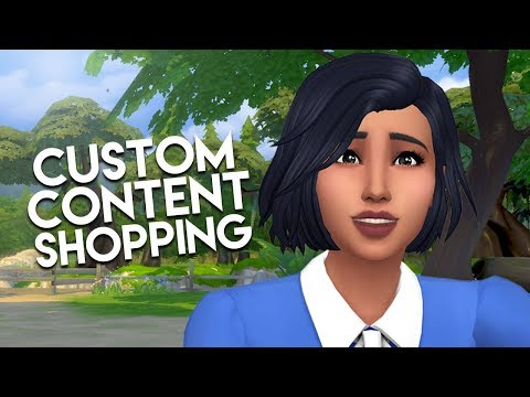 CC SHOP WITH ME // The Sims 4: Custom Content Shopping (100+ Items!)