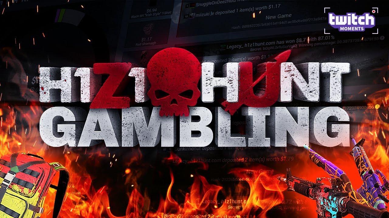 H1Z1Hunt GAMBLING! I FINALLY WON MY FAVORITE SKIN ...