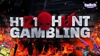 H1Z1Hunt GAMBLING! I FINALLY WON MY FAVORITE SKIN!? (Exclusive Giveaway)