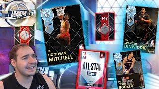 NBA 2K18 My Team DIAMOND DONOVAN MITCHELL & DEVIN BOOKER! CRAZY NEW MOMENT ALL STAR DIAMONDS!