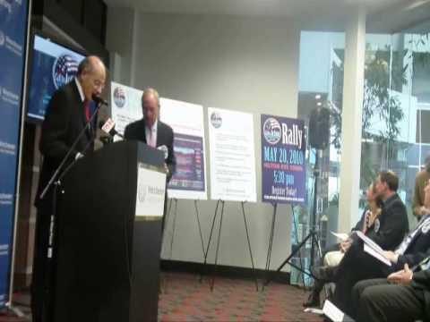 The Call to Action Campaign Launch Press Conference - Part 1
