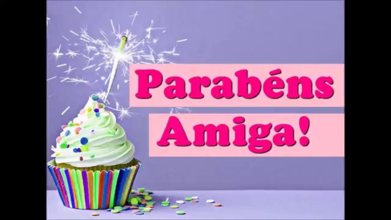 Mensagem De Aniversário Para Amiga!