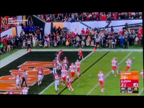 Clemson vs Alabama College Football National Championship 2017 REACTION!