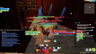 ''Дружба народов'' Танцы в библиотеке во время убийства Библиотекаря Тиреноса [Мелисара]-ArcheAge