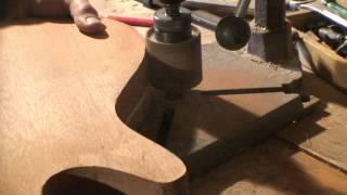 Building A Walnut Bass Guitar