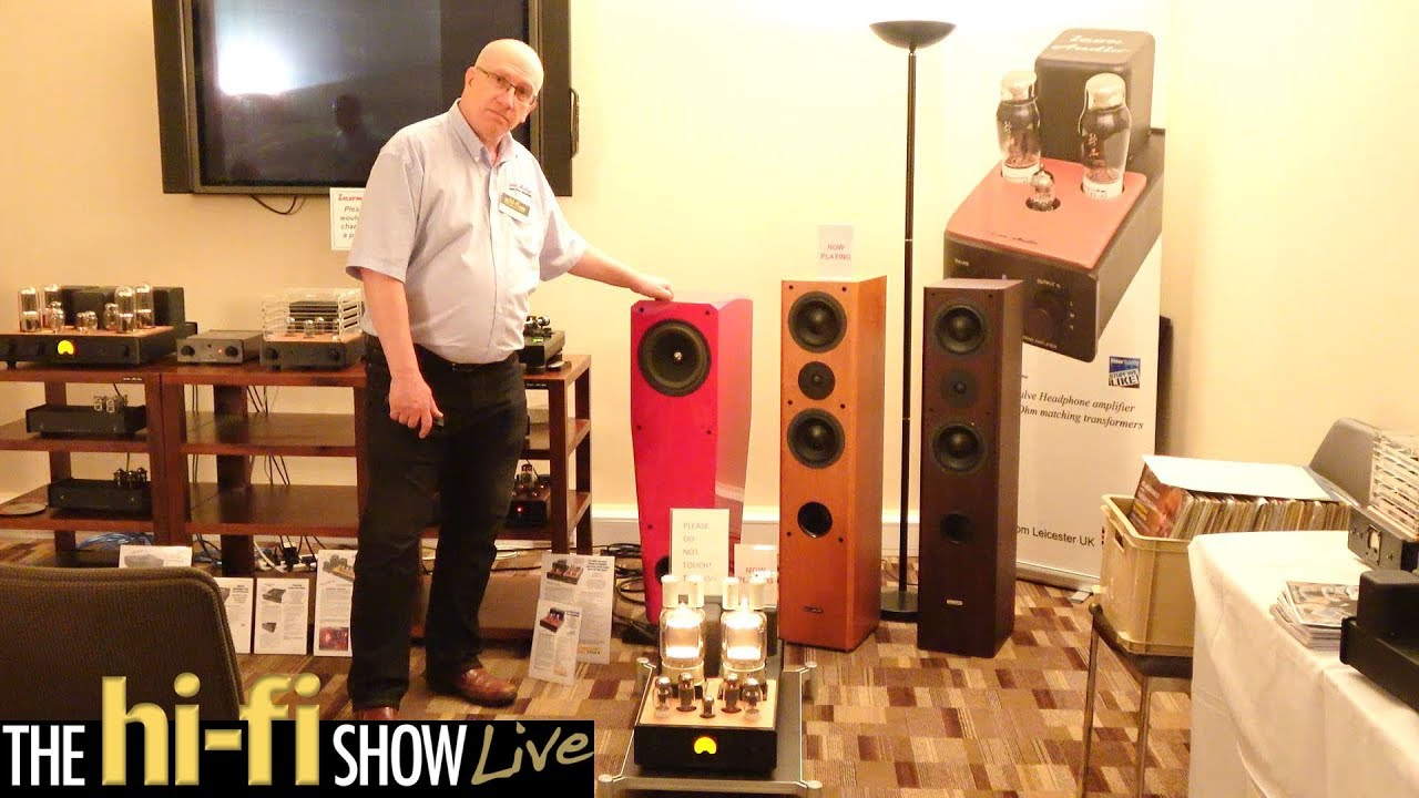 Icon Audio All Valve System HiFi CD Player Amplifier @ Hi-Fi Show Live 2017
