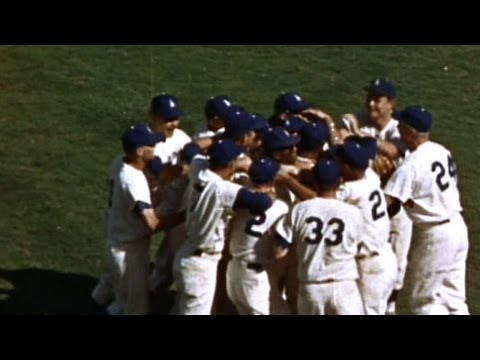 WS1963 Gm4: Dodgers sweep Yankees in