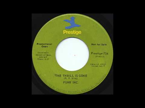 The Thrill Is Gone - Funk, Inc. (1971)  (HD Quality)