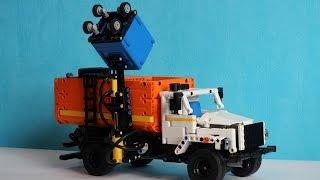 lEGO Technic Pneumatic Garbage Truck