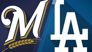 Milwaukee Brewers Vs. Los Angeles Dodgers Live Stream Reaction and Play by Play
