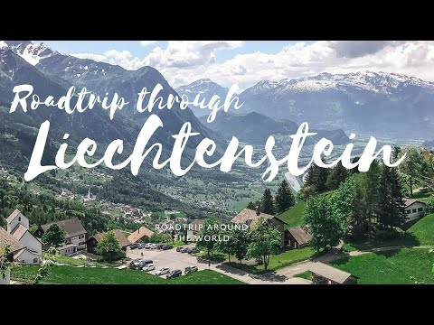Road trip through Liechtenstein
