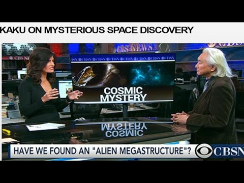 Michio Kaku talking about Alien Mega Structure FOUND? (KIC 8462852)