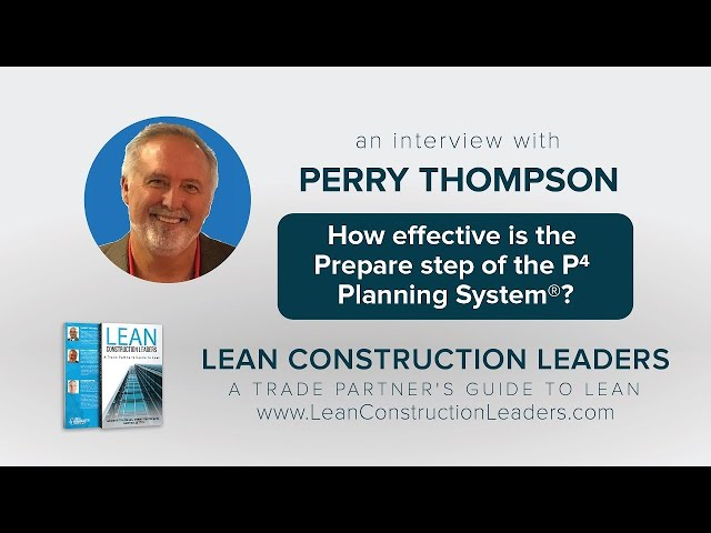 How effective is the Prepare step of the P4 Planning System?