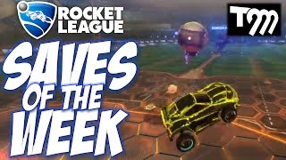 Rocket League - TOP 10 SAVES OF THE WEEK #36