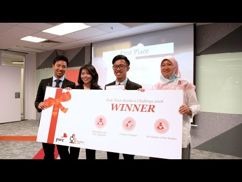 PwC Malaysia: Highlights from the Trust Builders Challenge 2018 Finals