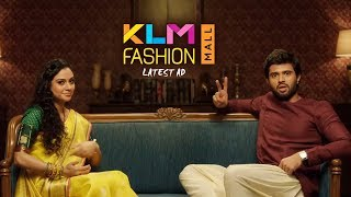 యాడ్స్ మీద యాడ్స్ 👌 | Arjun Reddy Vijay Devarakonda Latest KLM Fashion Mall AD