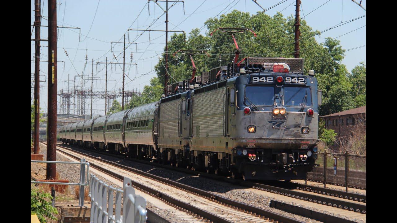 Amtrak GM Electro-Motive Diesel AEM-7 #917 on Northeast