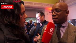 David Rocastle Inspired Me! | Arsenal Legend Ian Wright | 89 Film Premier