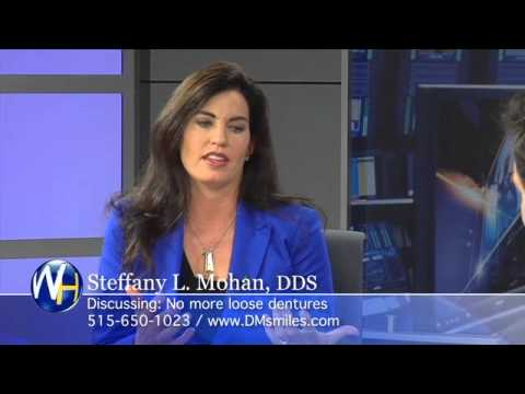 Steffany Mohan, DDS discussing Mini Dental Implants Des Moines Iowa