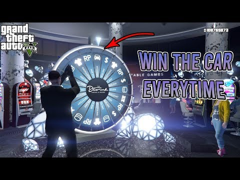 GTA 5 - Win the Car on the Lucky Wheel Every Time you Spin! (UPDATED METHOD)