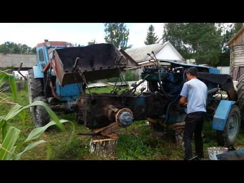 Разборка и ремонт тормозов трактора МТЗ-80, МТЗ-82