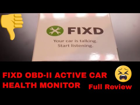 FIXD - Car Monitor Device - An Honest Review